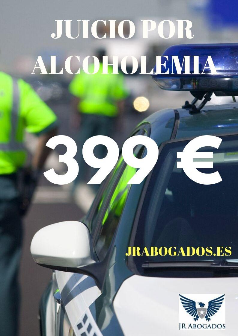 honorarios juicio rápido por alcoholemia