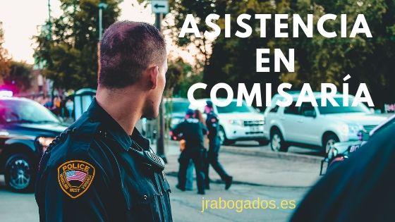 asistencia en comisaria abogado penal madrid
